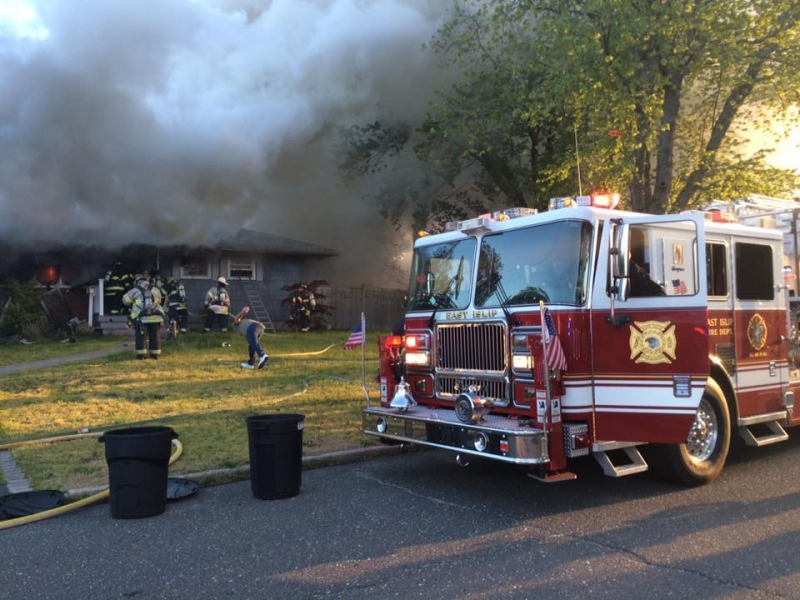 Mutual Aid to East Islip residential fire